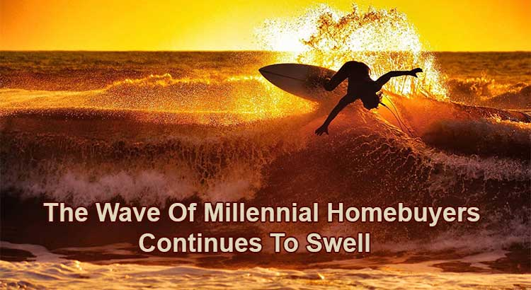 The Wave Of Millennial Homebuyers Continues To Swell